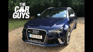 Audi RS6 Avant - BEST ESTATE CAR money can buy? The ultimate all-rounder!