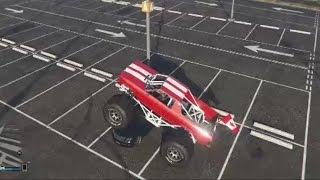GTA 5 Online Monster Truck (Cheval Marshall) (PS4)