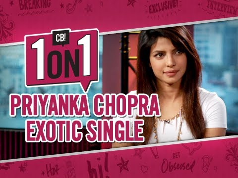 Priyanka Chopra Talks 'exotic' Single - Exclusive Interview video