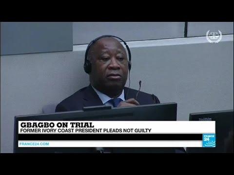 Ex-Ivorian leader Laurent Gbagbo pleads not guilty to crimes against humanity at ICC