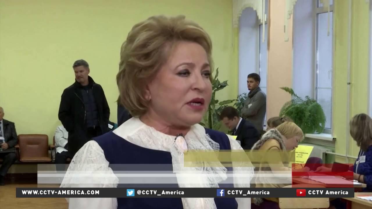 Russian Duma elections taking place