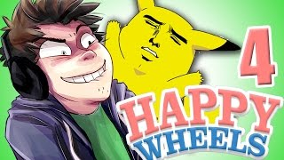 AVENTURA POKEMON GORE | Happy Wheels | Momentos Divertidos #4