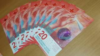 Brand new 20.- swiss francs now available