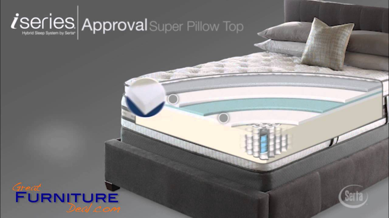 Serta Mattress iSeries Approval Super Pillow Top by