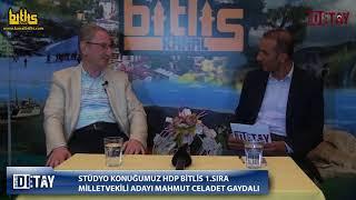 Bitlis Detay - HDP Bitlis Milletvekili Adayı M.Celadet Gaydalı