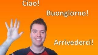 Apprendre l'italien - Leçon 1: Se présenter, les nombres