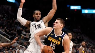 Spurs Beat Nuggets! Put Pressure on Lakers! 2018-19 NBA Season