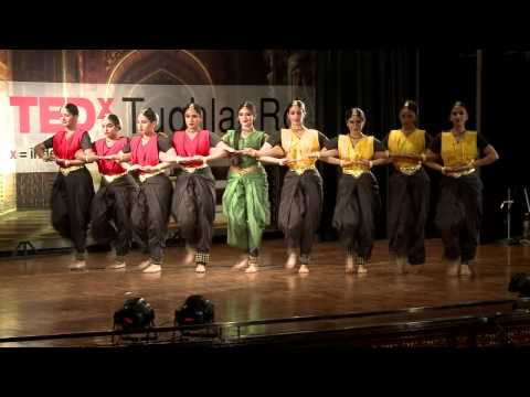 Newton's Third Law Of Karma: Maya -- Innovative Bharatanatyam At Tedxtughlaqrd video