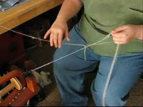 How to: Spinning Silk Hankies