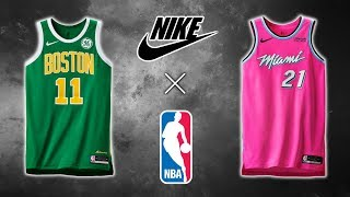 All NBA Nike Earned Edition Jerseys (2018)