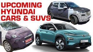 Hyundai  AH2 (Santro), C-SUV QXI (Carlino concept) and Kona EV details revealed! | ZigWheels.com