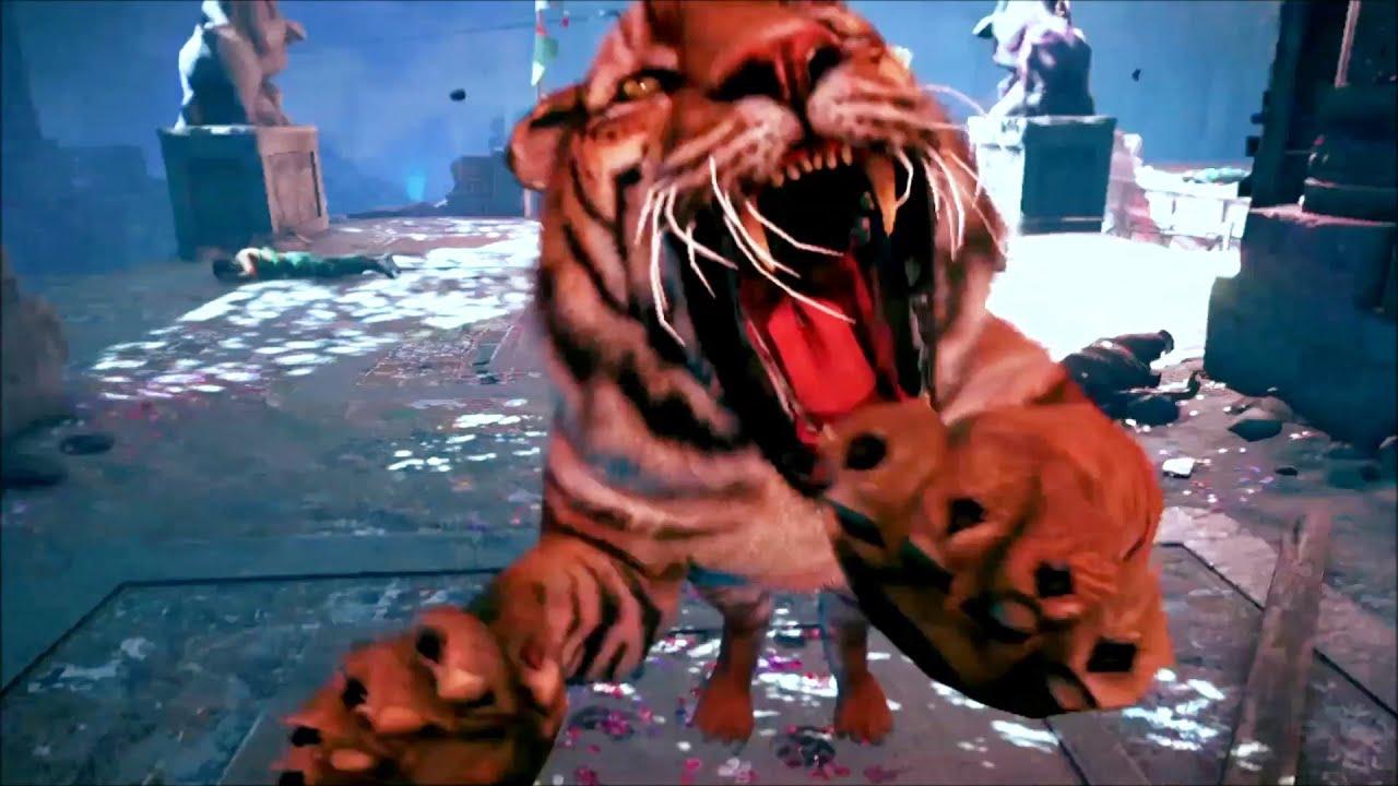 Far Cry 4 Tiger Wallpaper Far Cry 4 The Arena Mode