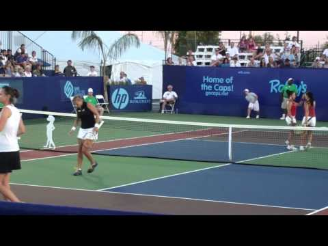 Lindsay Davenport vs. Vania King Video
