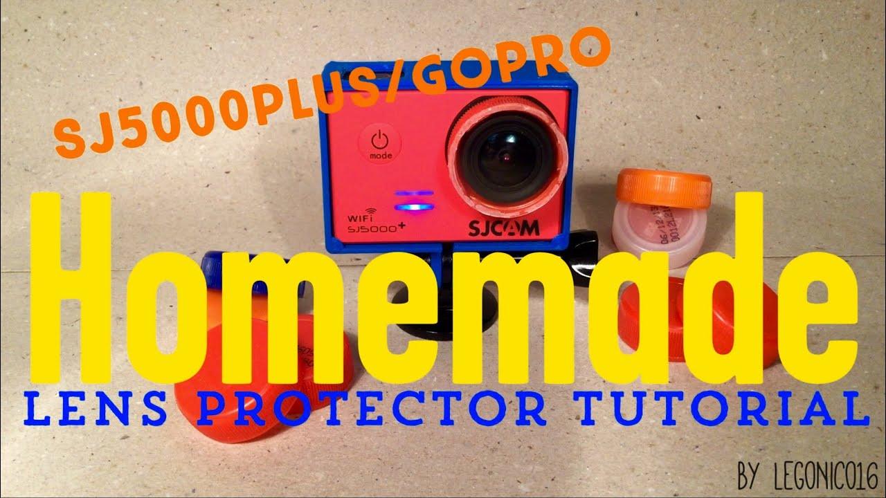 Lens Cap Gopro Sj5000plus/gopro Homemade Lens