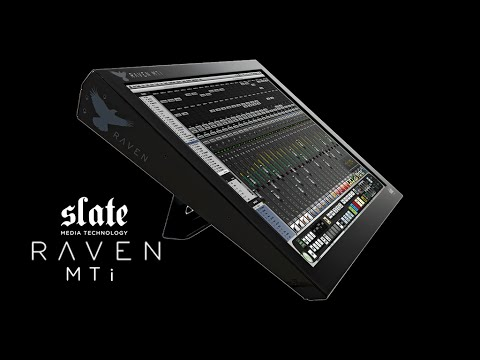 What the Pros are saying about the Slate RAVEN Production Consoles