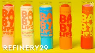How Maybelline Baby Lips Are Made   How Stuff Is Made   Refinery29