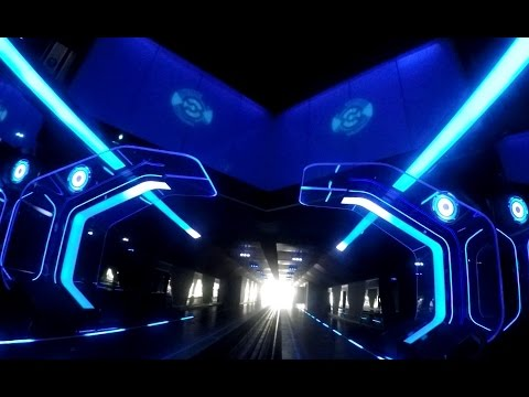 【SHDL】TRON Lightcycle Power Run – Presented by Chevrolet POV at Shanghai Disneyland