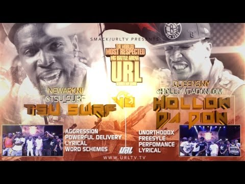 Smack / URL Presents: Hollow Da Don Vs Tsu Surf (Rap Battle)