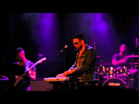 Ryan Leslie - Valentine/Nice & Slow (Cover) Manchester Academy 8th February 2013