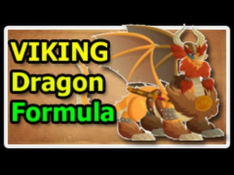 VIKING DRAGON Deus Vault FORMULA in Dragon City