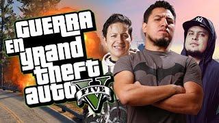 GTA V Guerra con #LosNoobs (Resumen de Twitch)