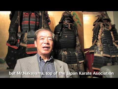 Worlds Karate Legend Hirokazu Kanazawa Shotokan Master 10th Dan (pt.1) video