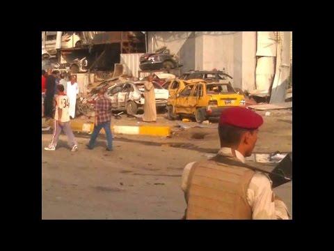 Baghdad car bombs kill at least 26