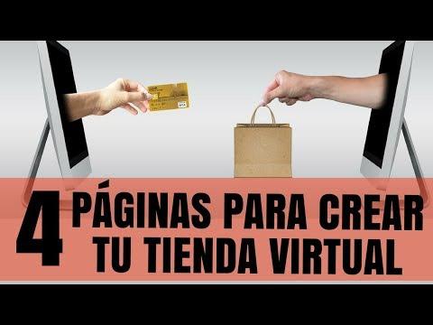 ✅ 4 Mejores Páginas para CREAR TU TIENDA VIRTUAL - La Ultima es GRATIS