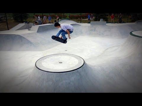 Nashua skatepark Pre Grand Opening