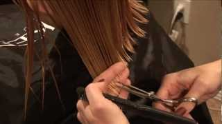 HOW TO CUT GIRLS HAIR // Basic Girls Trim // hair tutorial