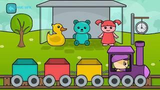 video game#bé tìm hiểu hoa quả, hình dạng, động vật**hoc va choi  30082018 game wfk