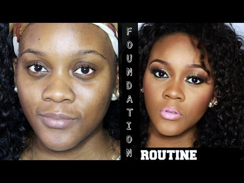 My Updated Foundation Routine ft Lancome Teinte idole 24h foundationn