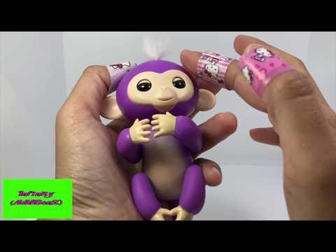 Fingerlings Baby Monkeys Unboxing Review  ลิงเกาะนิ้ว  - Infinity aombenz