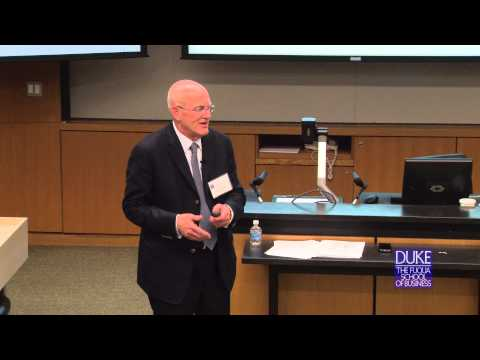 Drew Bernstein speaks at the Duke Asia Business Conference