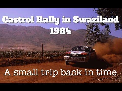 Swaziland Castrol Rally 1984