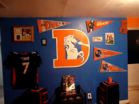 Sickest Broncos Room Ever Part 2 Youtube