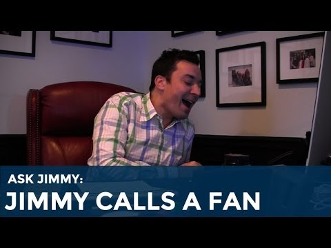 Ask Jimmy: Jimmy Fallon Calls a Fan