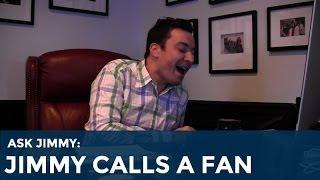 Ask Jimmy: Jimmy Fallon Calls a Fan