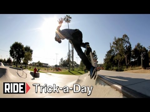 How-To B/S Blunt Stall with Chad Bartie - Trick-a-Day