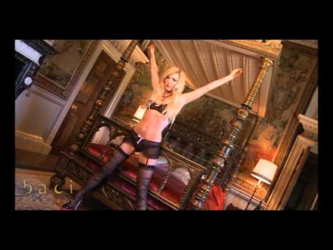 Ensemble Baci Lingerie Have Fun Princess String Et Mini Jupe Noir video