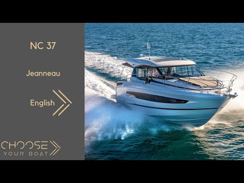 NC 37 by Jeanneau: Guided Tour Video (in English)