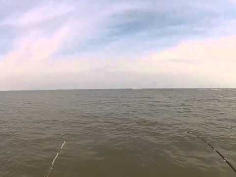Fishing for Bull Reds on St Simons Island GA