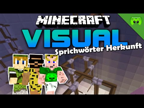 MINECRAFT Adventure Map # 14 - Visual Projekt 2 «» Let's Play Minecraft Together | HD