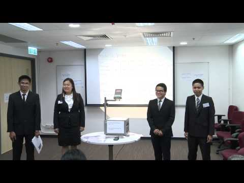 HSBC Asia Pacific Business Case Competition 2014   Round 2 F1   University Of the Philippines
