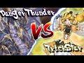 Trickstar vs Danger! Thunder Dragon Yu-Gi-Oh! Dueling Book