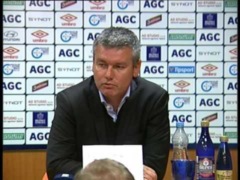 Tisková konference domácího trenéra po utkání s Baníkem Ostrava (26.9.2015)