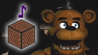 Five Nights at Freddy's 1 Song   The Living Tombstone  Minecraft animation