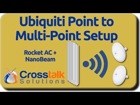 Ubiquiti Point to Multi Point Setup