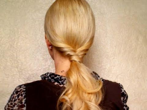 Ponytail Long Hair Styles Прически на каждый день своими руками
