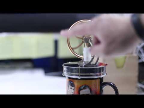 Sunnytech Stirling Engine Demonstration - External Combustion Engine